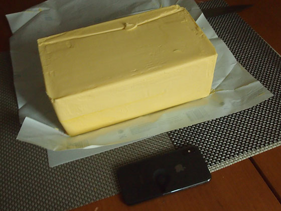 5kgグラスフェッドバター開封