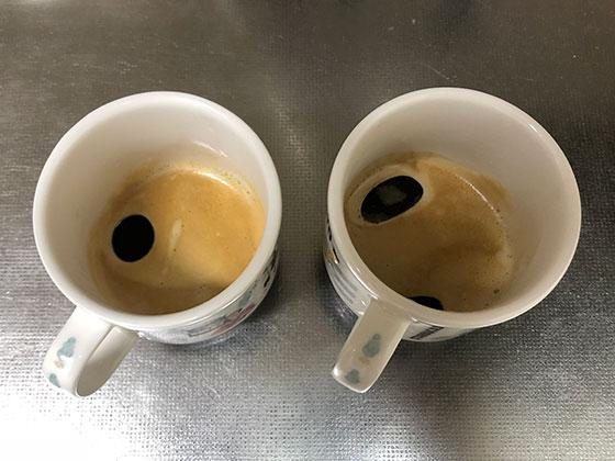 コーヒー淹れ終わったあと
