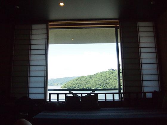 部屋から見える絶景